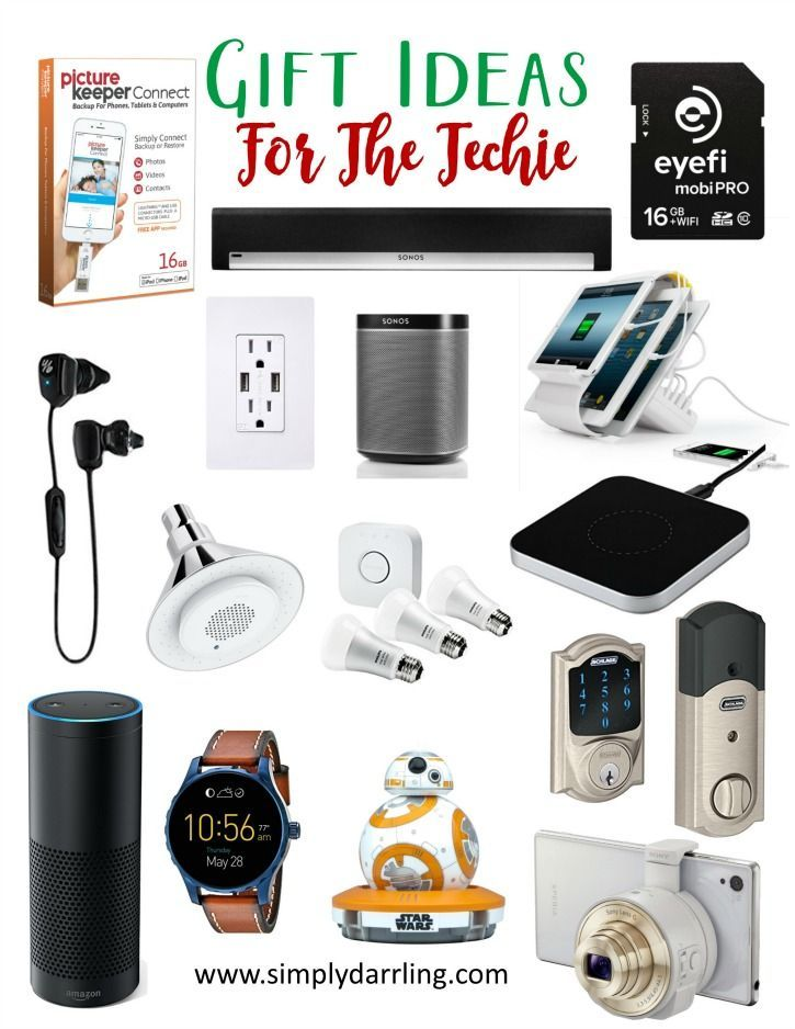 Super Holiday Gift Guide u2013 Gifts For The Techie  sc 1 st  Pinterest & Gift Ideas For The Techie | Gifts Galore | Gifts for techies ...