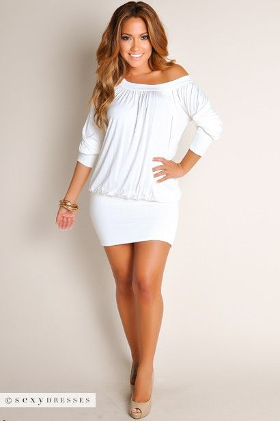 17 best ideas about White Tunic Dress on Pinterest | Style fashion ...