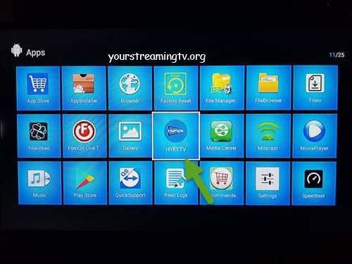 How To Install HYFY TV On Android – Your Streaming TV
