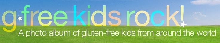 online photo album of gluten free kids from around the world