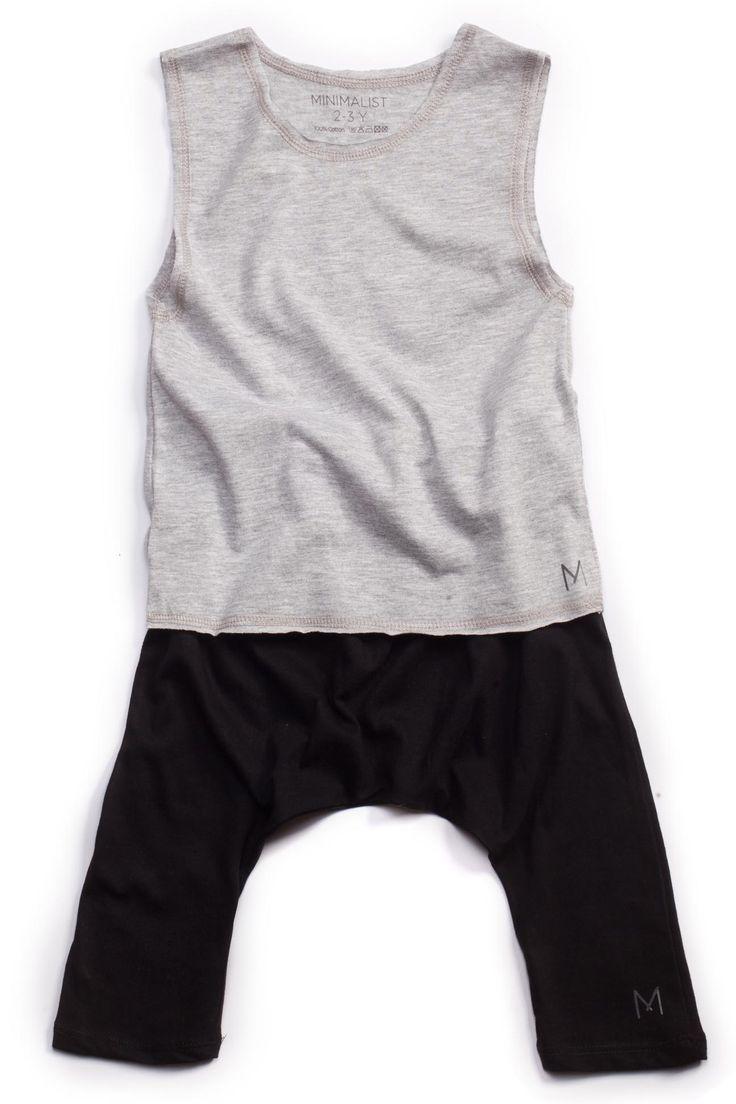 MINIMALIST - SUMMER #Grey&Black Casual look