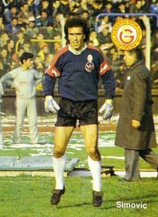 Zoran Simovic of Galatasaray in 1990.