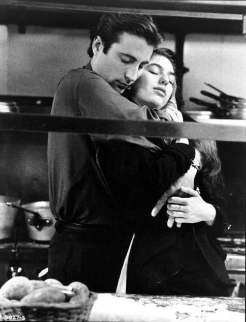 Andy García as Vincent Corleone and Sofia Coppola as Mary Corleone in The Godfather Part III, 1990