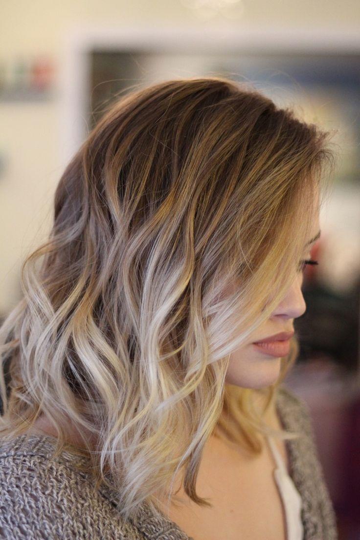 Les 20 meilleures id es de la cat gorie cheveux boucl s blonds sur pinterest - Qu est ce qu un balayage ...