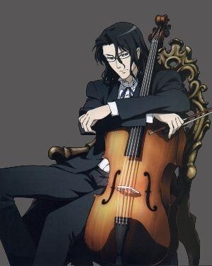 Haji and his cello...