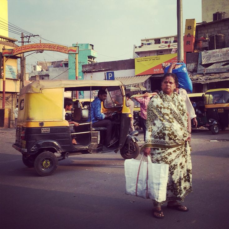 Expressions on the streets. Kerala