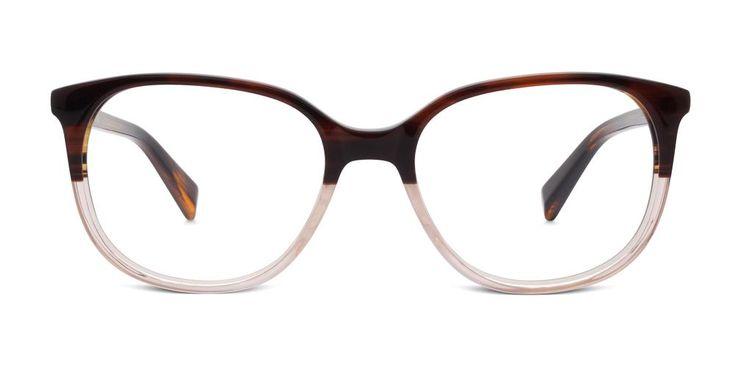 Laurel in Tea Rose Fade - Eyeglasses - Women | Warby Parker ($95)