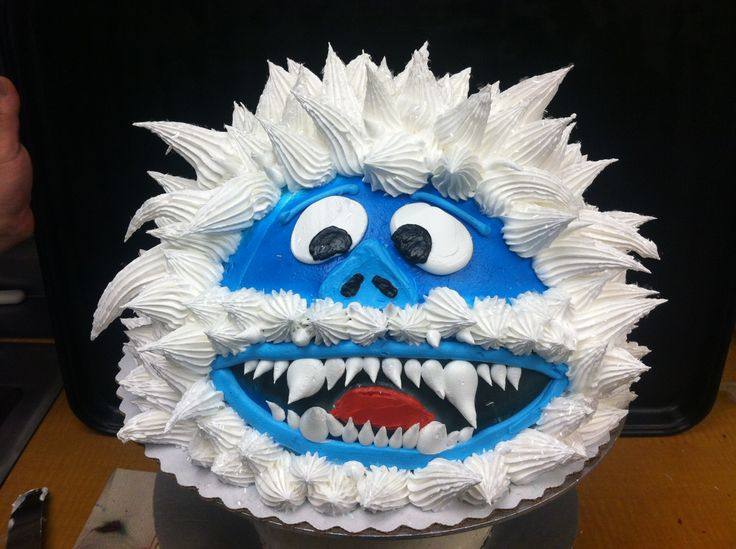 Abominable snowman cake christmas pinterest snowman for Abominable snowman holiday decoration