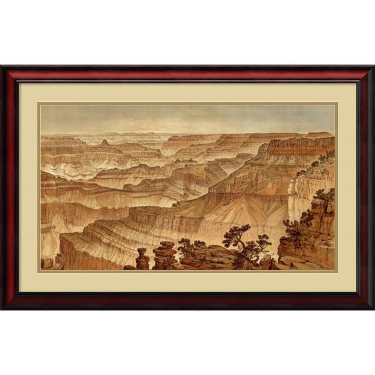 William Henry Holmes 'Grand Canyon - Panorama from Point Sublime