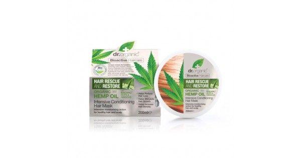 Dr. Organic hajnövekedést serkentő intenzív hajpakolásBaicapil formulával és kendermagolajjal, 200 ml- A hajsűrűség növekedésének, a hajnövekedés serkentésének és a hajhullás csök