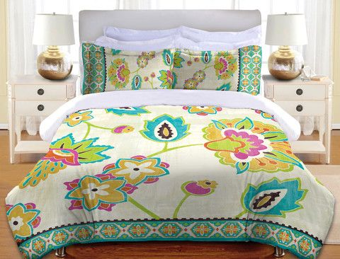 Paisley Park Duvet Cover and Shams – Laural Home
