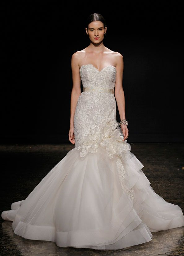 Great Lazaro Wedding Dresses Spring Collection
