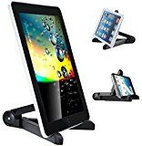 iPad Stand, Kitbest Folding Tablet Stand, Portable Mini iPad Stand Adjustable Tablet Stands and Holders for 7-10 inch pad, E-Readers, Smartphones, iPhone, iPad Air , Samsung Galaxy Tab, Kindle Fire