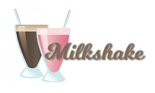 Milkshake Font. Free font! Love this font on pinkandpaper.blogspot.com