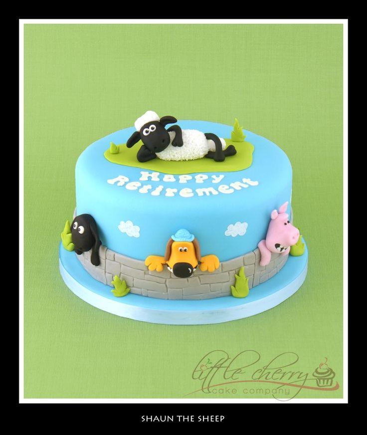 Shaun the Sheep Cake — TV / Movies / Celebrity
