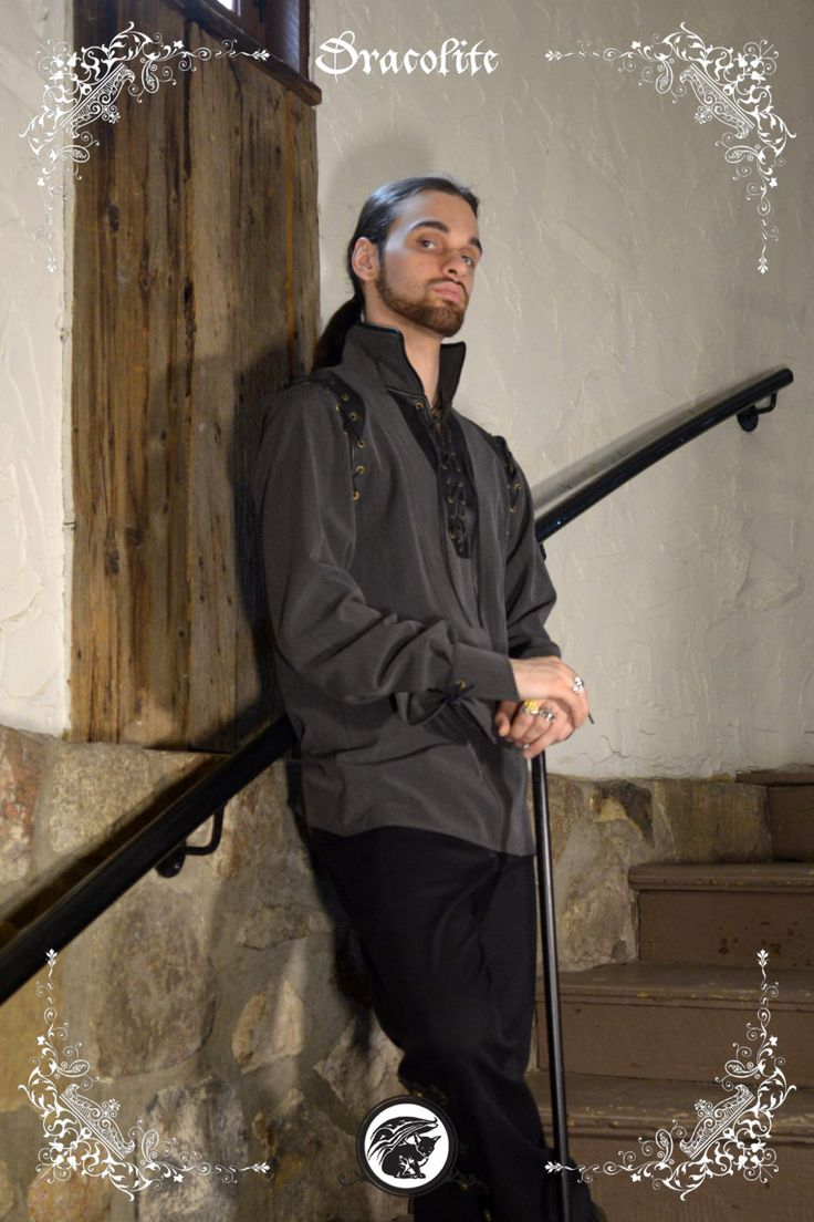 Empire medieval shirt clothing for men LARP costume and cosplay
