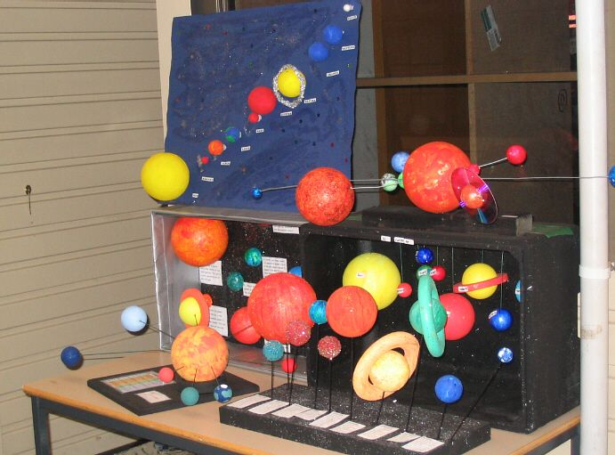 Solar system art projects note all the creative ways the for Solar project for kids