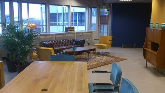 "See here the new meeting space ""the Loft"" at Seats2Meet in Utrecht (NL)"