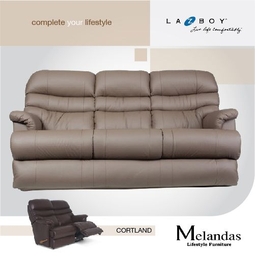 """Sit back and relax in this extremely soft and comfortable reclining sofa.The neutral tones of this""""Cortland""""make it easy to fit into any home.  #melandas #melandasindonesia #sofa #recliner #reclining #sofabed #decoration #interior #designinterior #instaphoto #igers #instagood #like #follow #tagsforlikes #comfortable #furniture #tbt #photooftheday #followme #like4like"""