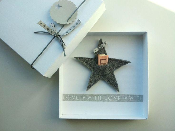 Geldgeschenk Weihnachten Stern