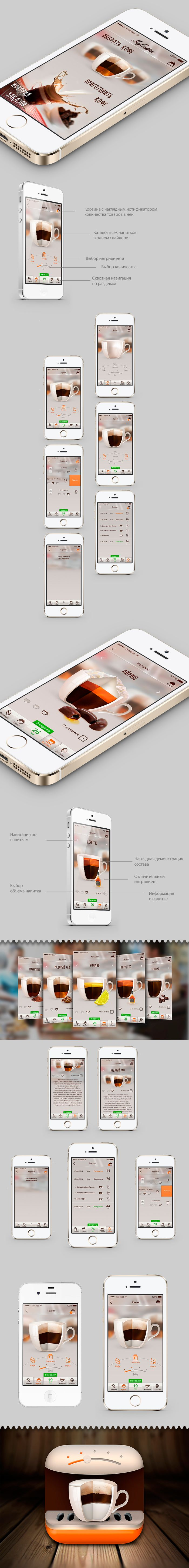 My Coffee on Behance