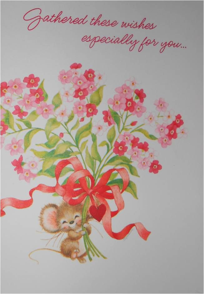 24 best images about hallmark mice greeting cards i want Hallmark flowers
