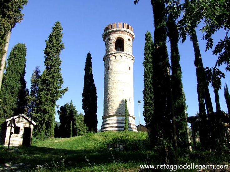 ROMANO D'EZZELINO: Hill of Dante (Col Bastia), place mentioned in the DIVINA COMMEDIA