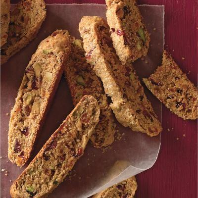 Pistachio and Cranberry Biscotti recipe
