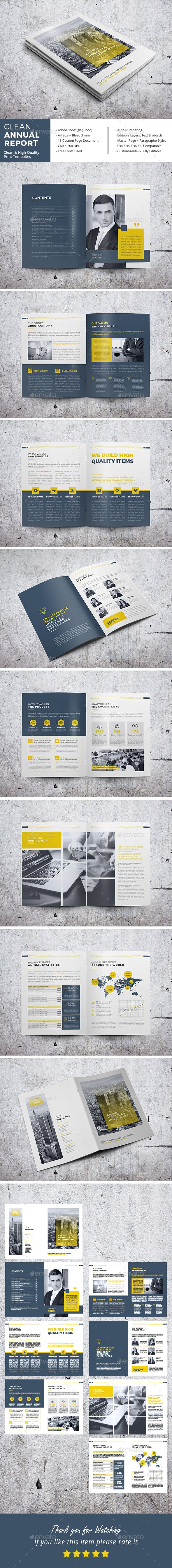 458 best layout and typography images on pinterest posters clean annual report by emydesign fandeluxe Gallery