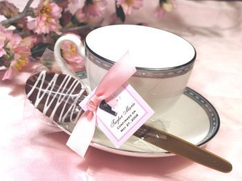 First Communion Chocolate Coffee Spoons http://www.alittlefavor.com/products/116/lmkCommunionspoon/first-communion-chocolate-coffee-spoons.html