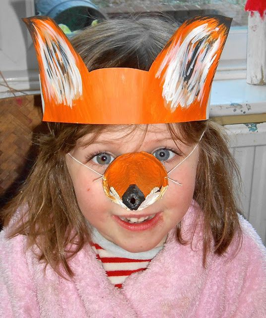fox crafts | fox head - Mrs Fox's Crafty Boxes