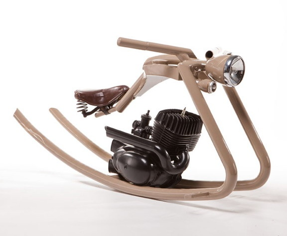 Rocking Chopper // A Toddler's Dream Bike, Benidorm, Spain, España......Or a bicycle...
