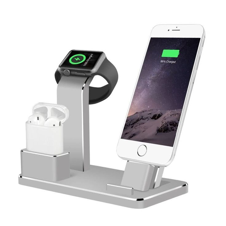 4 in 1 Mobile Phone Stand Desk Charge Dock Station Bracket Sales Online gray - Tomtop.com