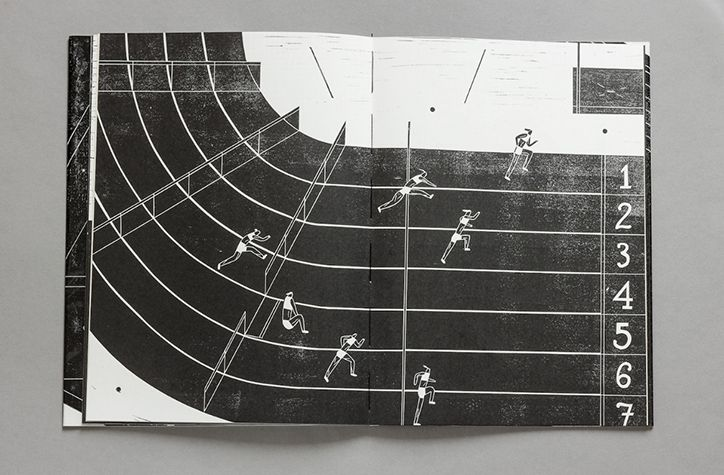 It's Nice That | Berlin-based illustrator Riikka Laakso's lino printed book explores the number seven