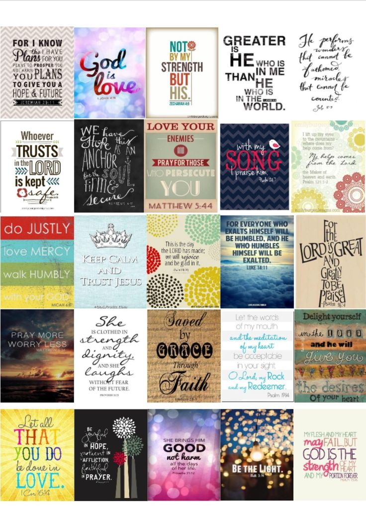 Bible verse cover ups