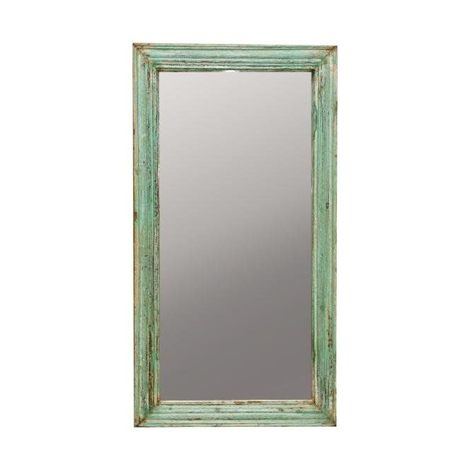 Green Wall Mirror Frame In 2021 Painting Mirror Frames Framed Mirror Wall Green Wall Mirrors