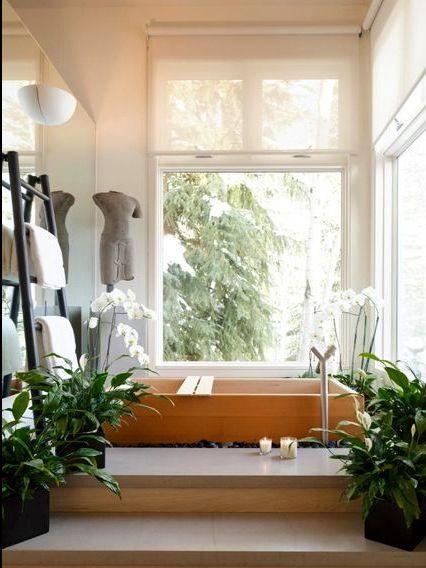 Zen bathroom designs