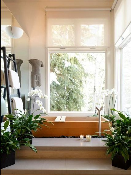 Zen bathroom designs