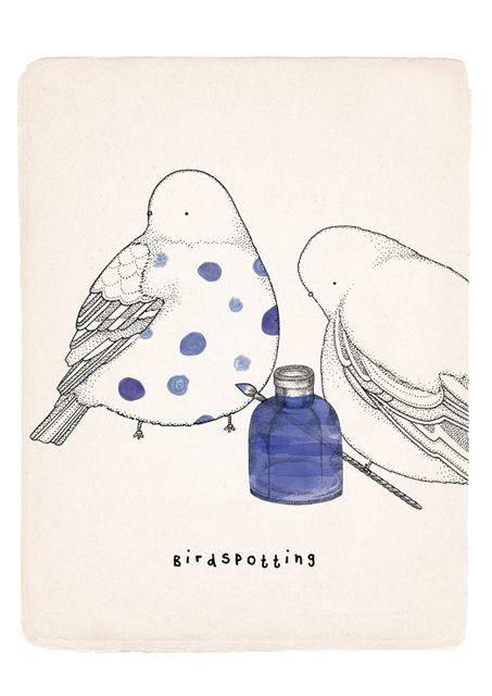 The Little Birds - Little Doodles by Kate Wilson
