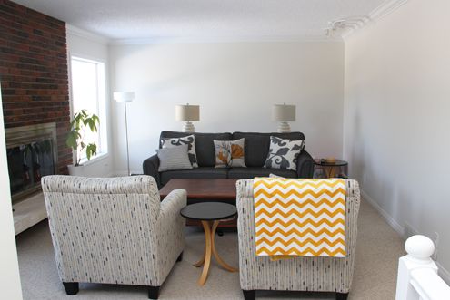 benjamin moore s soft chamois in valspar s signature paint found at lowe s in eggshell. Black Bedroom Furniture Sets. Home Design Ideas