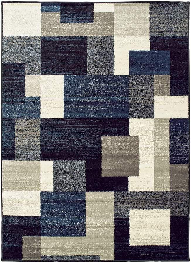 Stylehaven Geometric Block Rug Rugs Rugs On Carpet Area Rugs