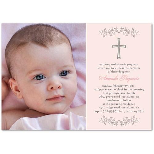 58 best baptism images on pinterest baby cakes girls baptism baptism invitation idea stopboris Gallery
