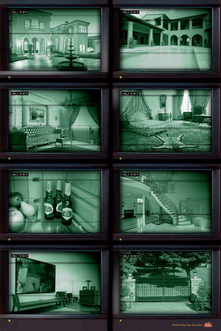 Security Camera, Stella Artois Ad