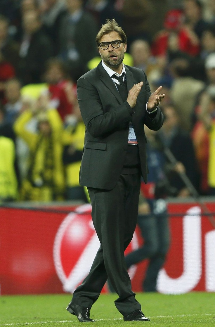 ~ Jurgen Klopp, manager of Borussia Dortmund, thanks his fans ~