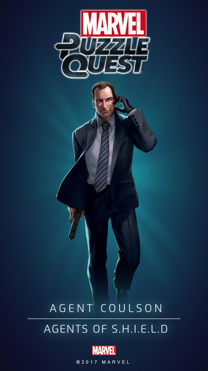 Agent COULSON (Agents of SHIELD) | 4 Stars | Profile Face | Marvel PUZZLE QUEST
