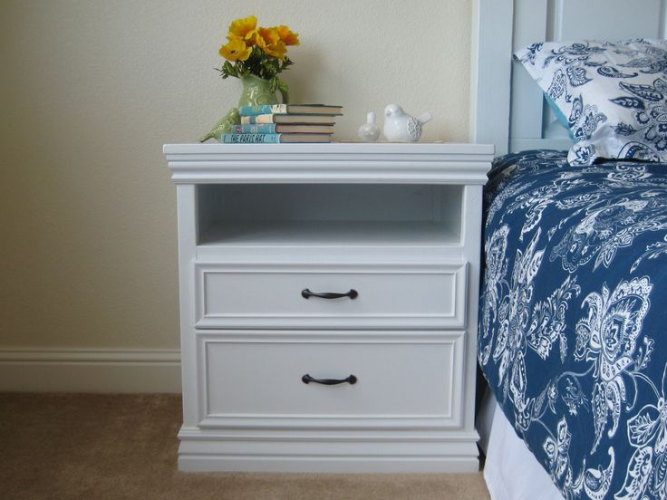Sawood free woodworking plans for nightstands for Build your own nightstand