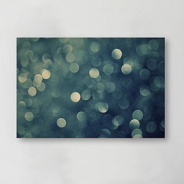 Blue aurora print from west elm find this pin and more on wall art
