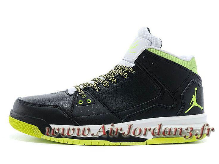 Jordan Flight Origin Chaussures Jordan OfficielBasket_Ball Pour Homme Venom Green-Volt 599593-016