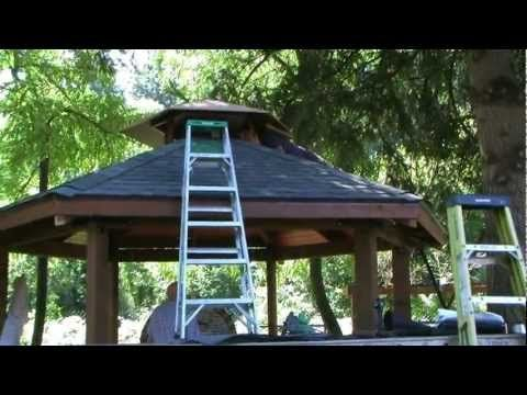 How to make your own gazebo and grill diy home hacks for Build your own cupola