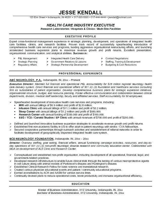 Free Resume Templates Healthcare Freeresumetemplates